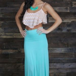 Dresses & Skirts - Maxi Skirt Mint Green